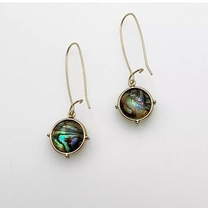 Chico's mother of pearl dangle earrings